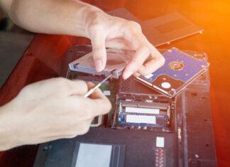 Dysk SSD 1 TB w laptopie